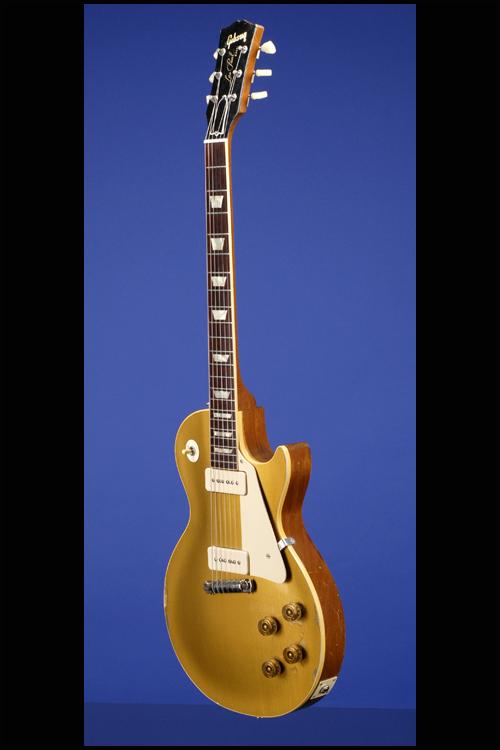 7c8a8d77cf1cd6 1955 Gibson Les Paul Standard Gold Top