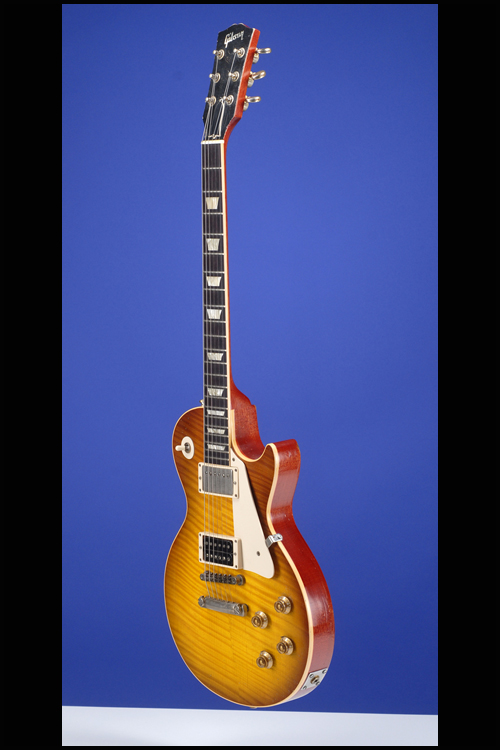 Les paul jimmy page custom authentic guitars fretted for Jimmy page les paul color