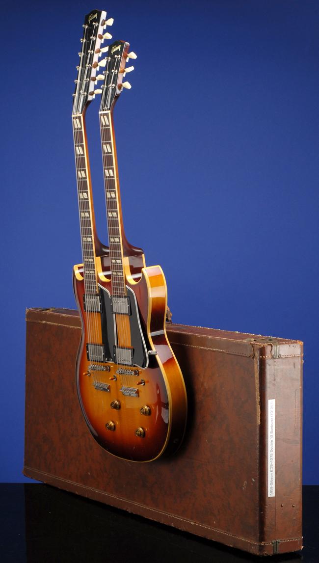 Double Neck Guitars Fretted Americana Inc