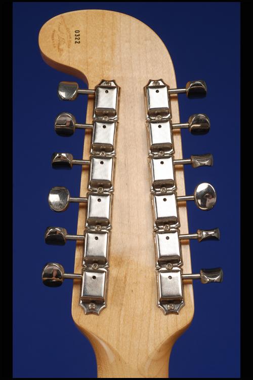 Custom Shop Double Neck Telecaster 12 String Fred Stuart