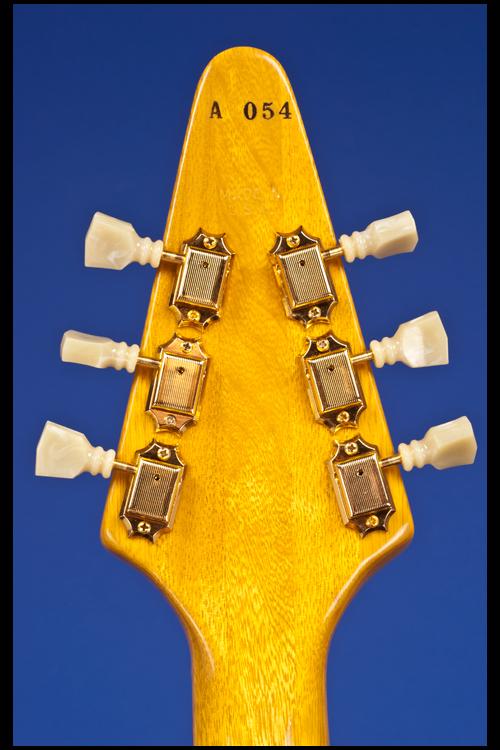Flying V Heritage 'Birds-Eye' Korina Guitars | Fretted