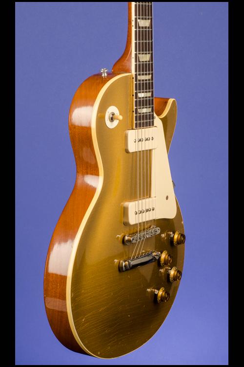 les paul standard gold top guitars fretted americana inc. Black Bedroom Furniture Sets. Home Design Ideas