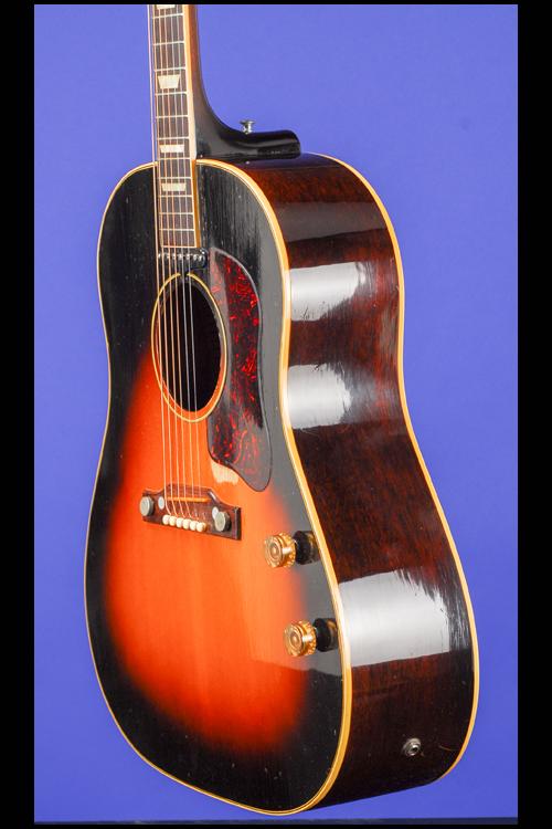 j 160e electric flat top guitars fretted americana inc. Black Bedroom Furniture Sets. Home Design Ideas