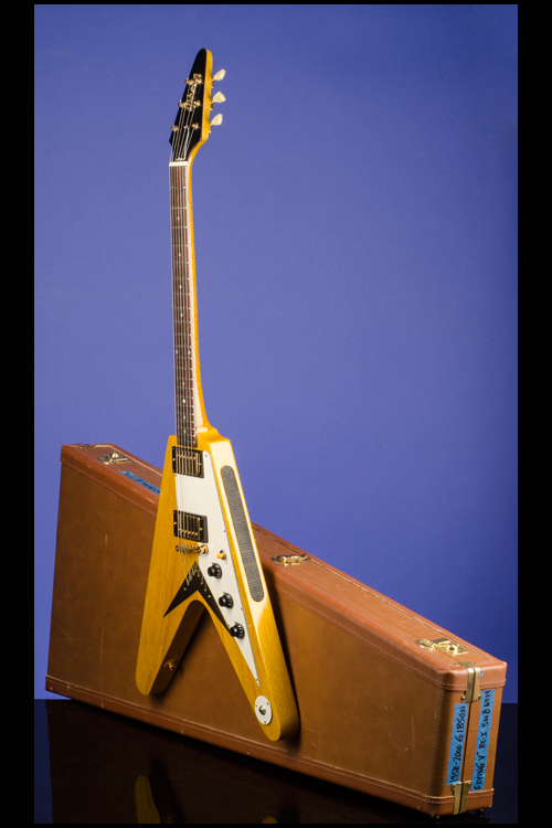 Flying V Korina 58 Reissue Guitars Fretted Americana Inc