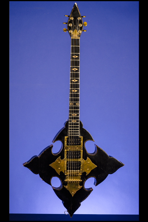 rebeth gothic cross with ram s head pentagram guitars fretted
