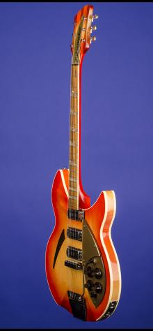 "1962 Rickenbacker 375 ""OS"" (three pickups, with vibrato)"