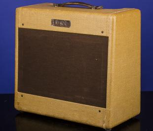 1953 Fender Deluxe (Wide-Panel) Amp Model 5C3