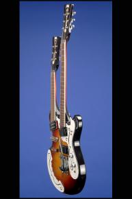 1986 Mosrite Joe Maphis Double Six string+Octave Guitar