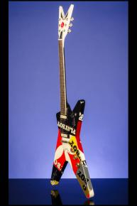 2009 Dean ML 'Playboy' hand-painted by Victoria Fuller